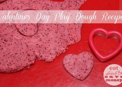 Barnsley Photographer Adele Haywood Valentines Day Play Dough Recipe is easy