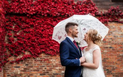 Rainy Weddings: Don't stress about it!